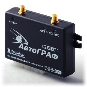 Трекер с поддержкой ГЛОНАСС и GPS АвтоГРАФ-GSM